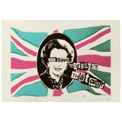 Billy Childish Jamie Reid God Save Margaret Thatcher