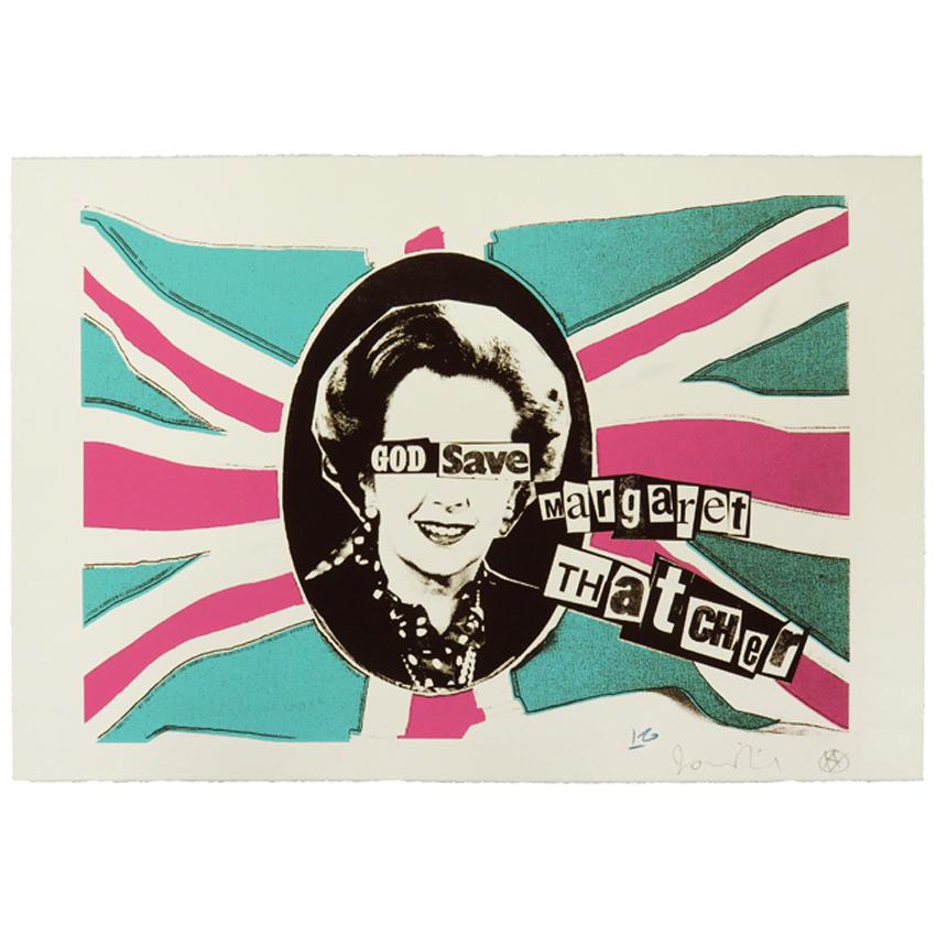 Billy Childish Jamie Reid God Save Margaret Thatcher