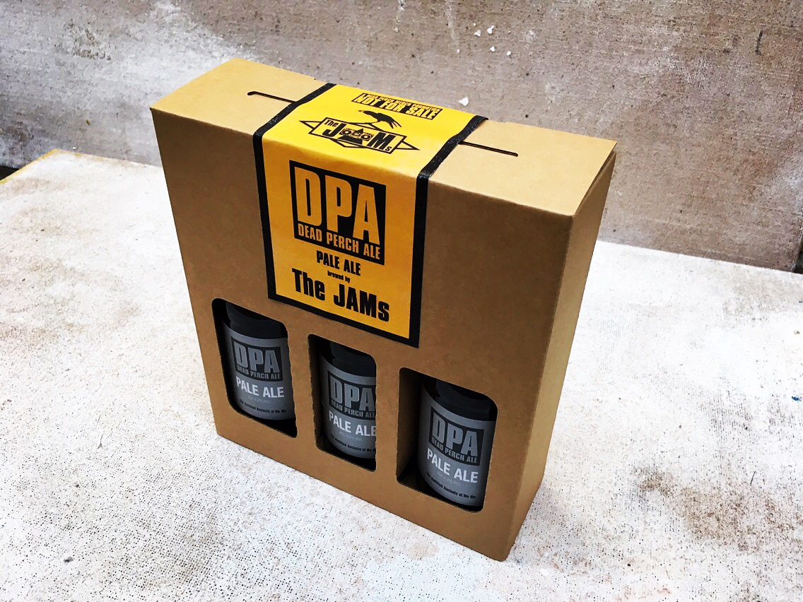 The JAMs dead perch ale gift pack