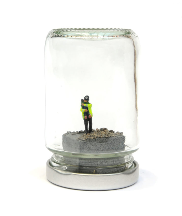 Jimmy Cauty Bedtime for Banksy Jam Jar 1