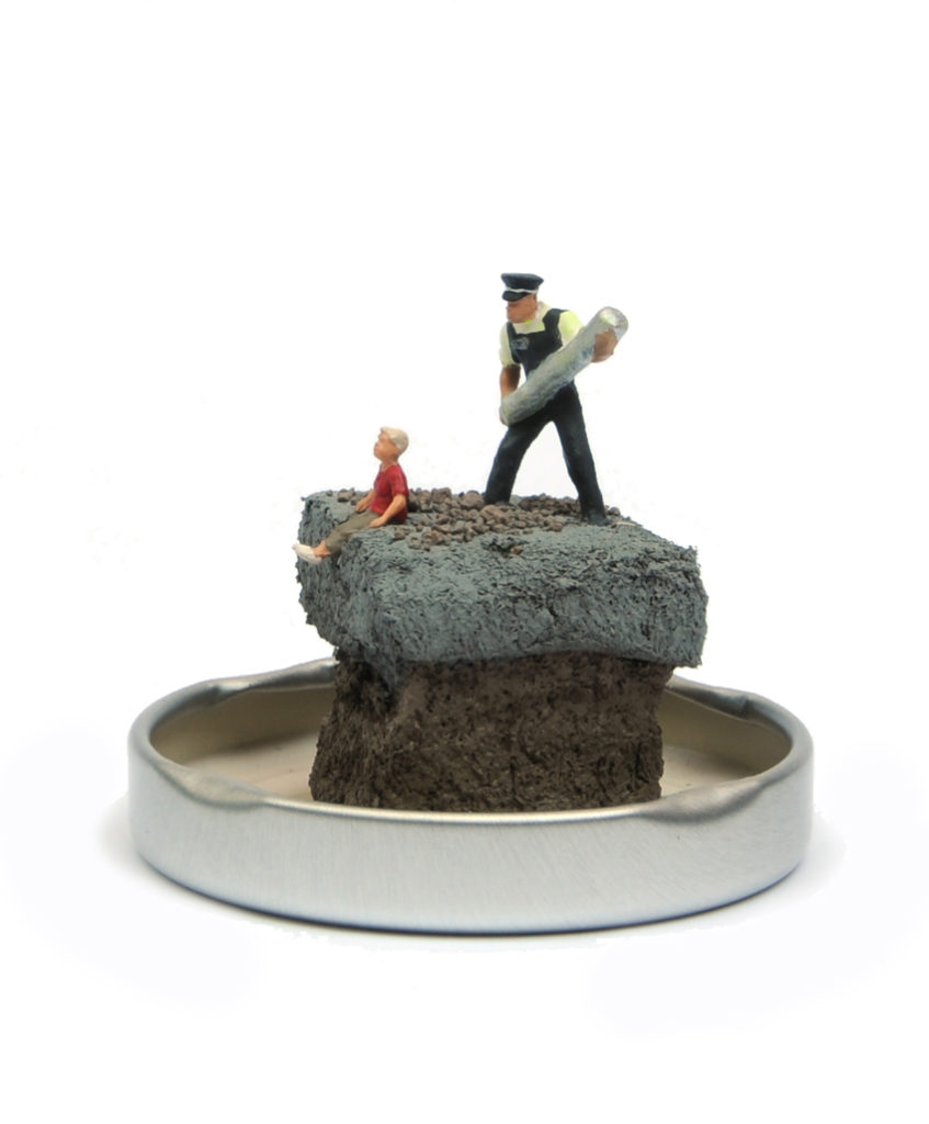 Jimmy Cauty End time for Banksy Jam Jar 4