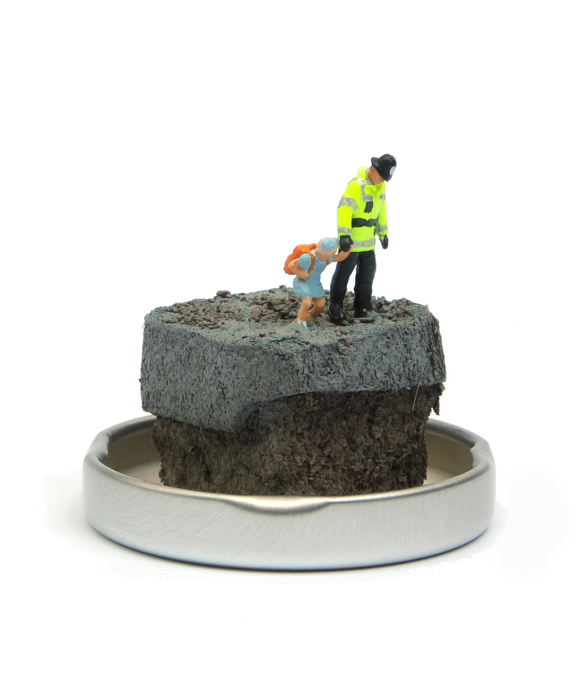 Jimmy Cauty Where We Threw Banksy Jam Jar 4