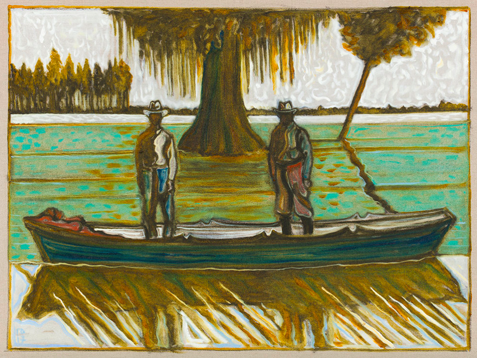 Billy Childish, Beneath a great Cypress Tree