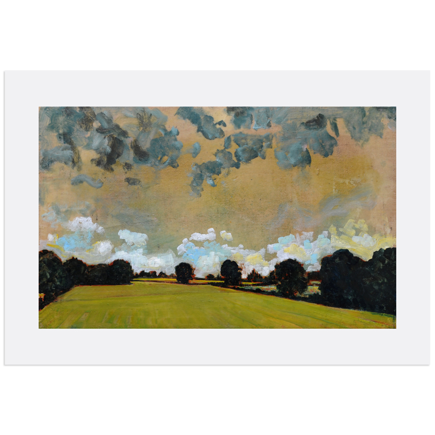 harry adams clouds over pasture