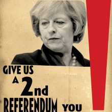 Billy Childish Theresa May 2nd Referendum