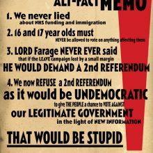 Billy Childish UKIP-Con Memo2