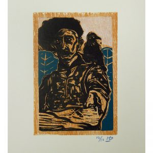 Billy_Childish_Man_with_Jackdaw_woodcut_72dpi
