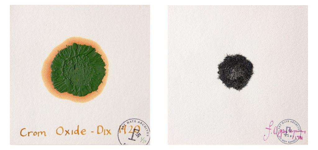 Finger of God Painting Machine Crom Oxide-Dix 2012 Breakfast Bristle