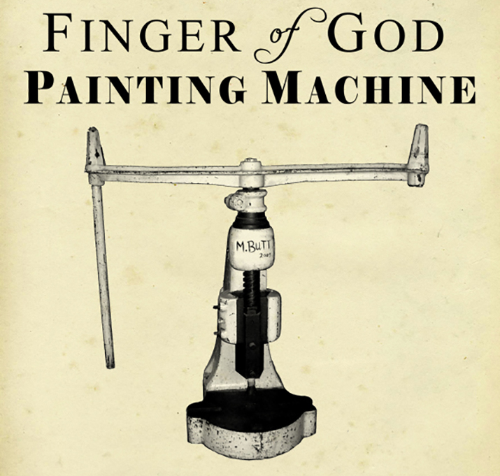 finger of god painting machine