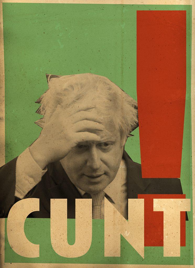 Billy Childish Boris Johnson Cunt