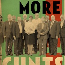 Billy Childish DUP_Cunts