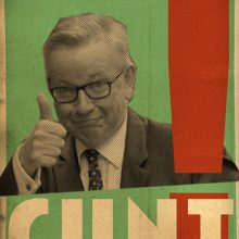 Billy Childish Michael Gove_Cunt