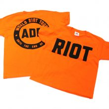 Jimmy Cauty ADP World Riot Tour Kids riot front & back 72dpi