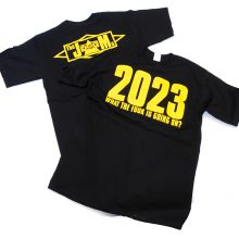 The JAMs 2023 T-shirt black front and back lo res3