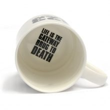 The JAMs 2023 mug inside