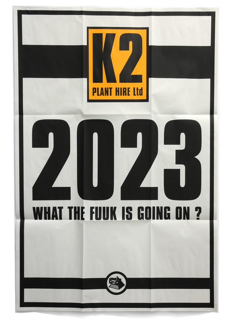 The JAMs 2023 poster opened out