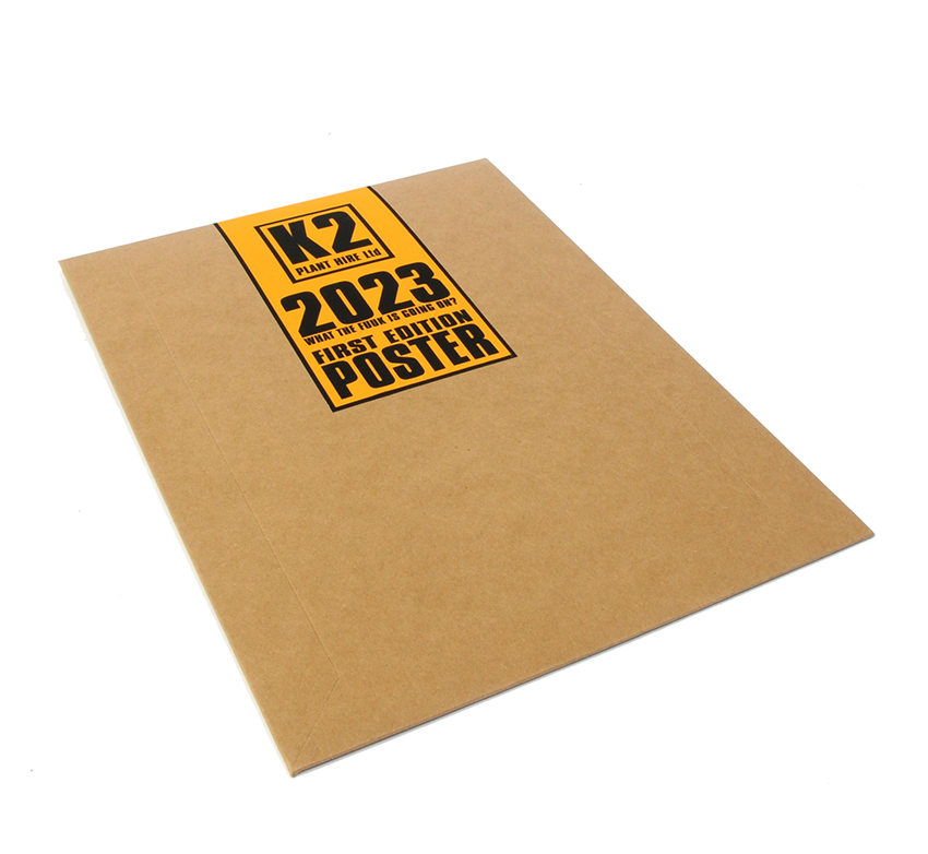 The JAMs 2023 poster packaging