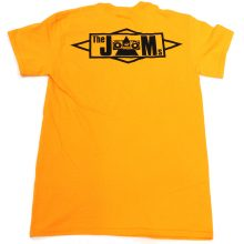 The JAMS 2023 T-shirt yellow back lo res