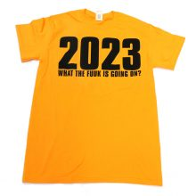 The JAMS 2023 T-shirt yellow front lo res