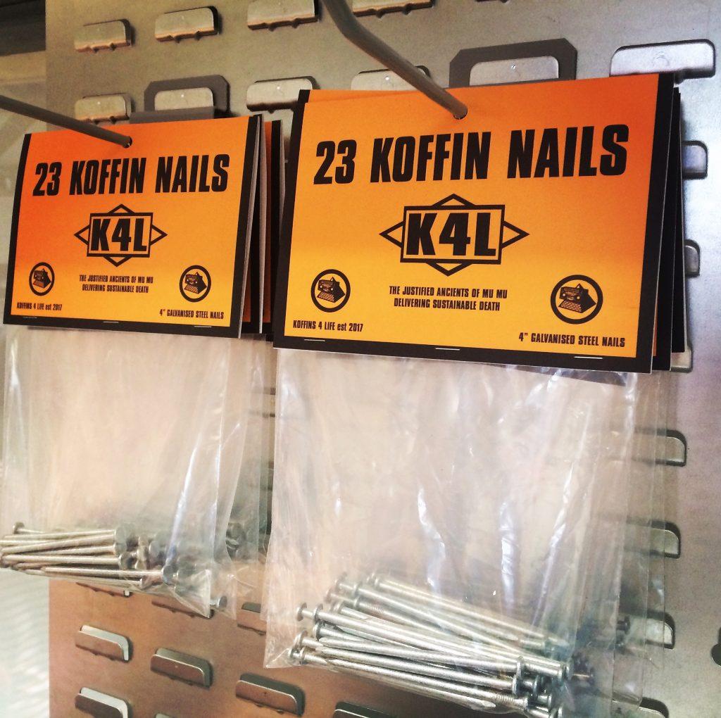 The JAMs Koffins 4 Life Koffin nails