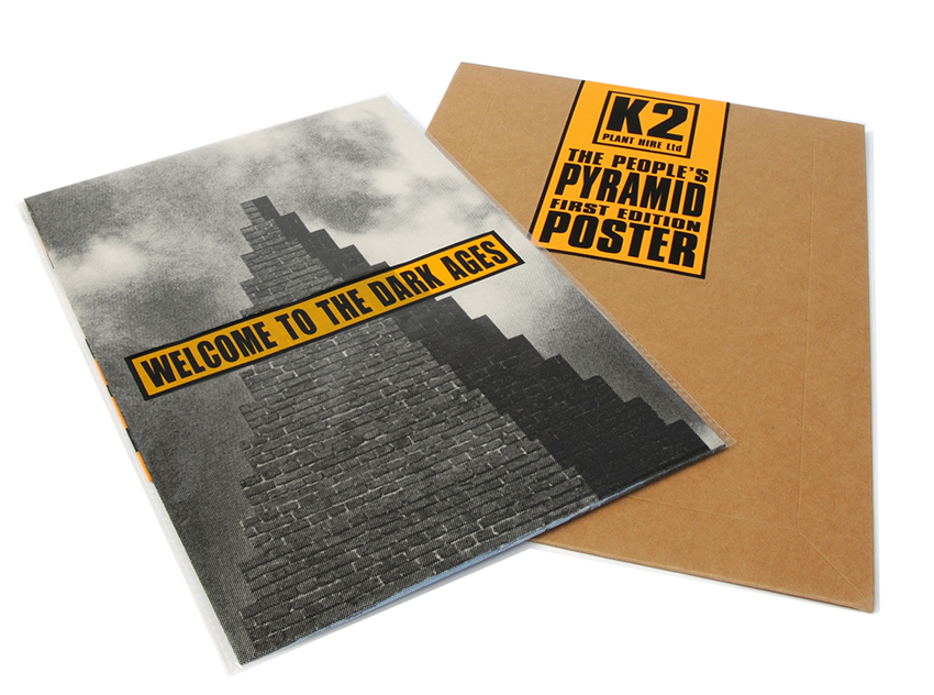 The JAMs People's Pyramid Poster in sleeve with packaging