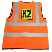 The JAMs K2 Plant Hire hi viz back lo res