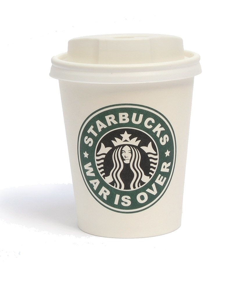 The JAMs 2023 War Is Over starbucks cup