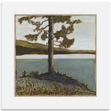 2BillyChildish-painting-tree evening