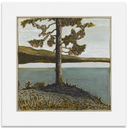 2BillyChildish-painting-tree evening