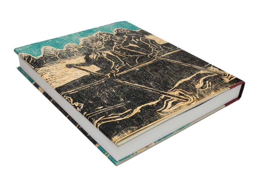 Billy Childish hudson bay furpackers woodcut book back