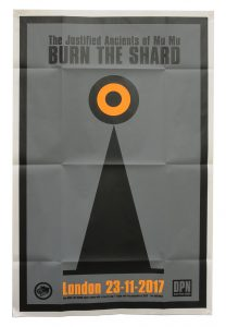 The JAMs Burn The Shard Poster