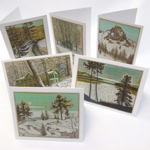 Billy Childish Winter Scene Cards