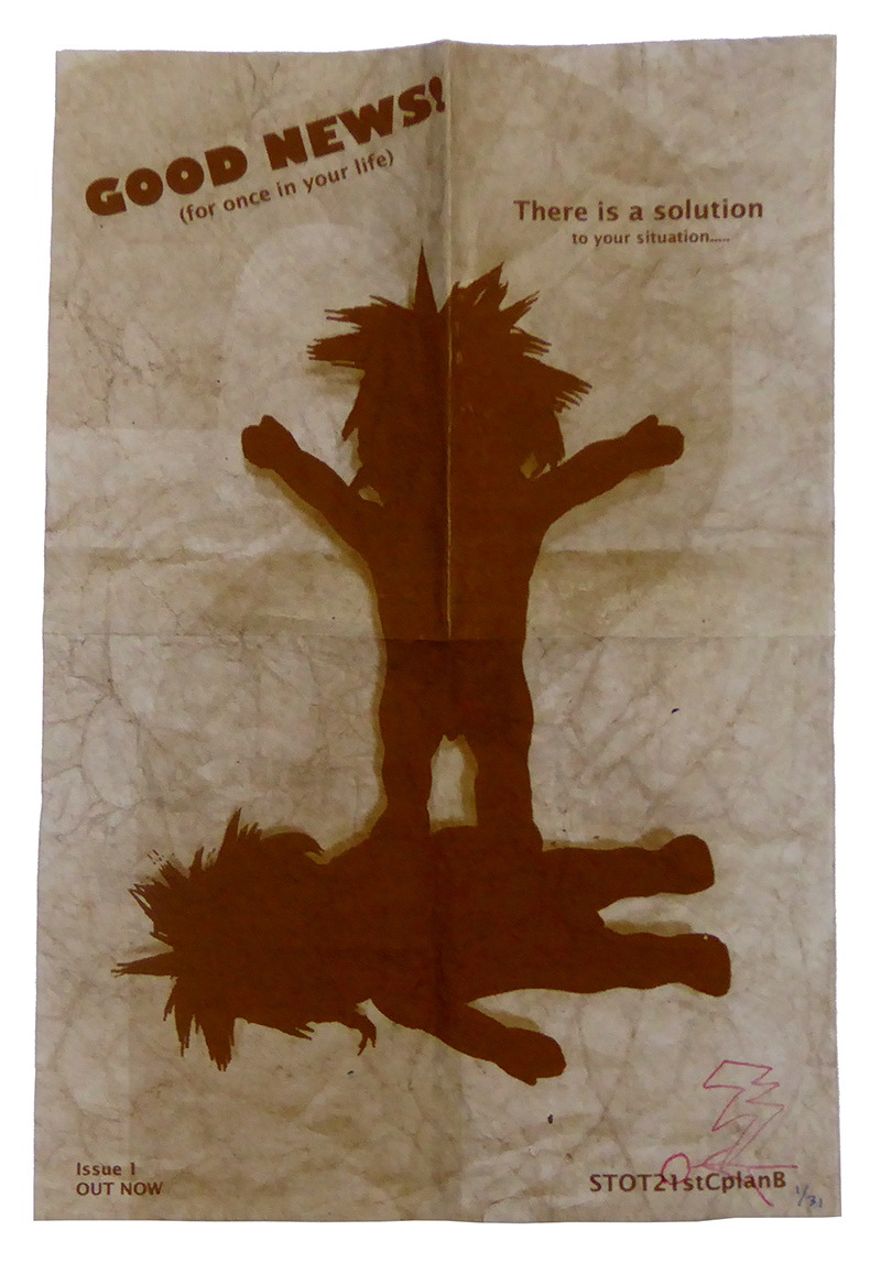 STOT21stCplanB_Good_News_brown_handbill