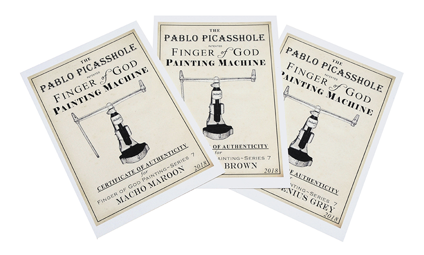Finger of God edition 7th certificates