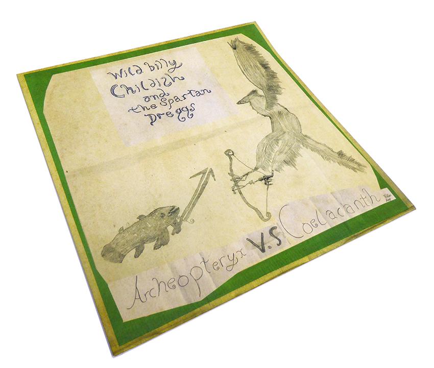 Billy Childish Spartan Dreggs Archaeopteryx vs Coelacanth 1