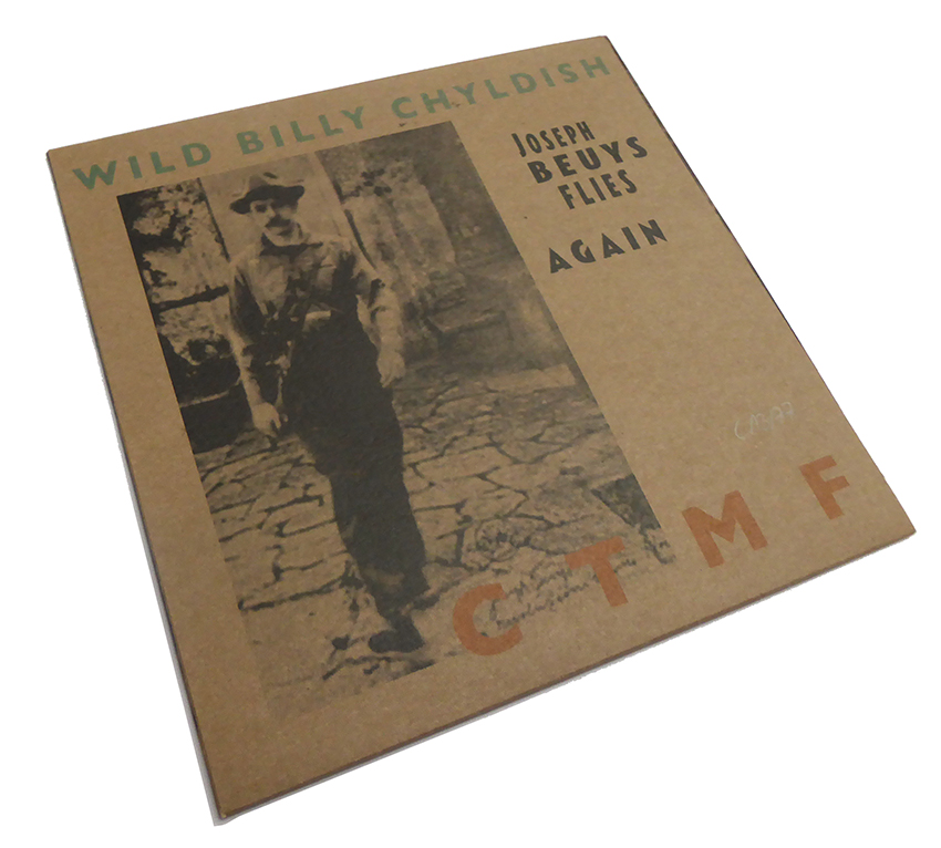 Billy Childish CTMF Joseph Beuys Flies Again -Beuys Cover front