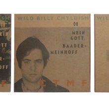 Billy Childish CTMF Joseph Beuys Flies Again - all 3 back