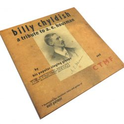 Billy Childish Tribute to AE Housman 1