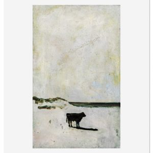 Harry Adams Cow_on_a_Beach-forweb