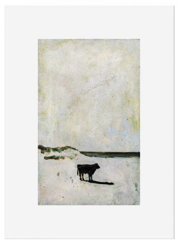 Harry Adams Cow_on_a_Beach-forweb