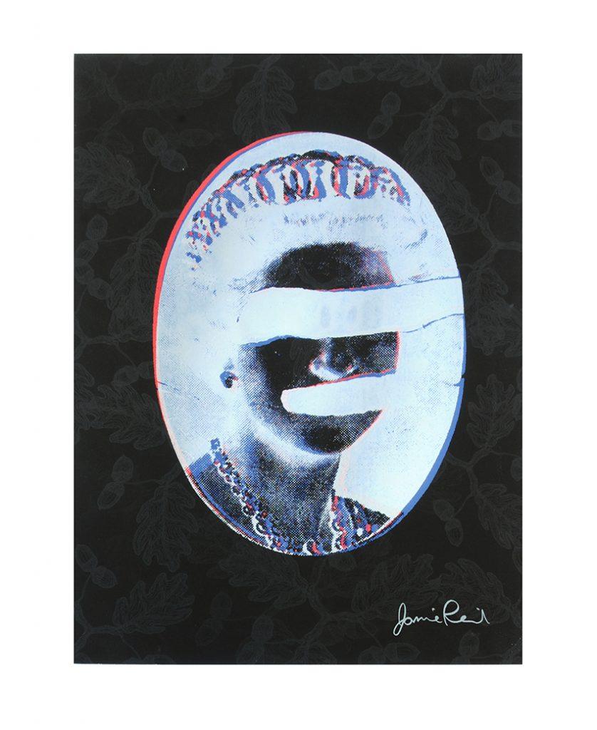 Jamie Reid Black Queen 1 with signature