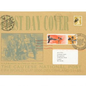 Jimmy Cauty CNPD Fifa World Cup 2006 First Day Cover
