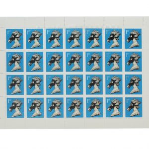 Jimmy Cauty CNPD Queen 1st class stamps