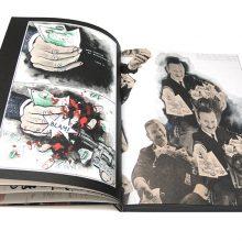Jamie Reid XXXXX Book page spreads 2