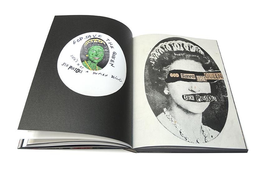 Jamie Reid XXXXX Book page spreads 4