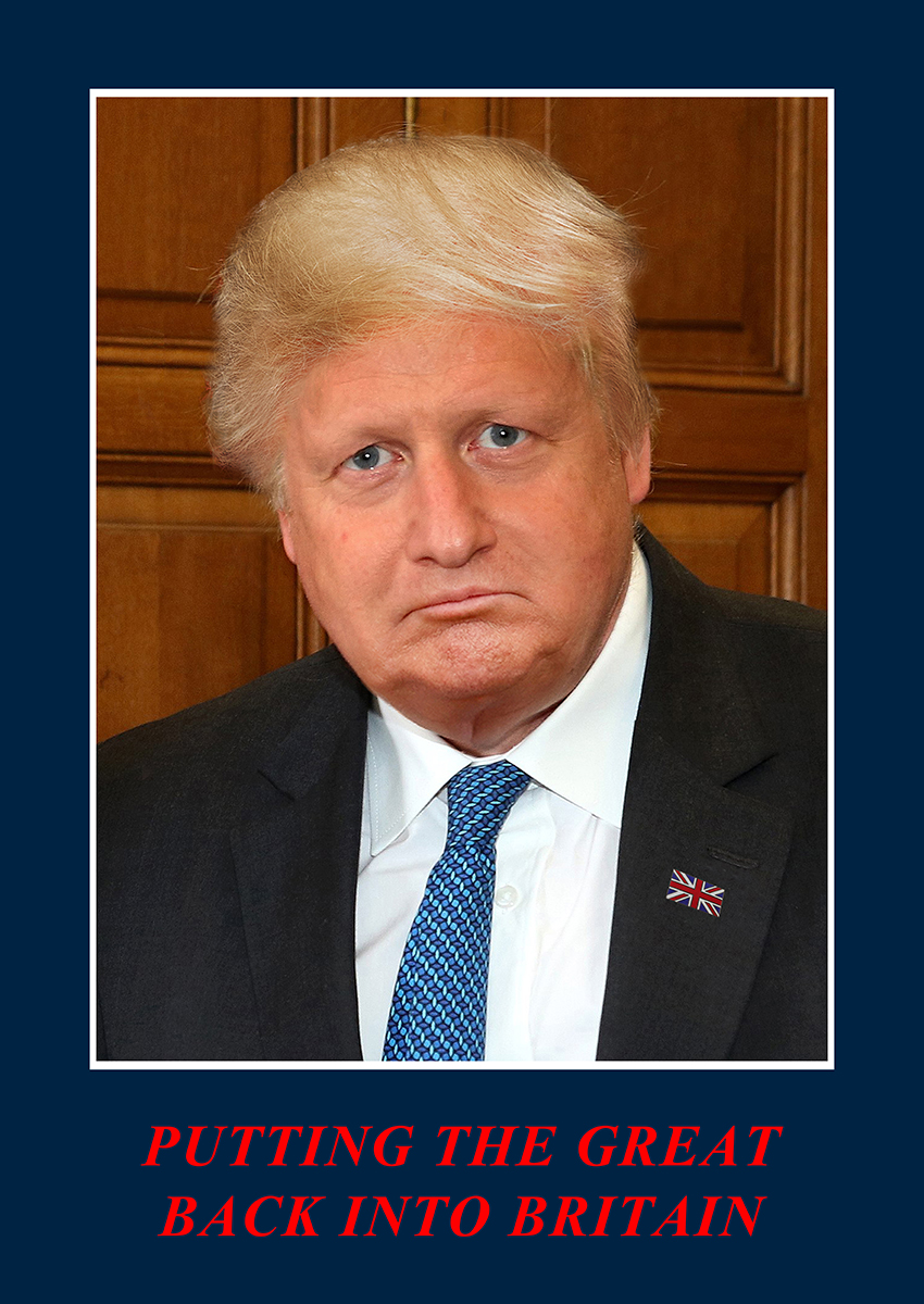 Boris Trump campaign poster 72dpi