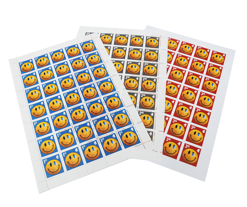 Jimmy Cauty Peterloo Mint Stamp Sheets