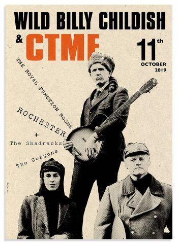 Billy Childish CTMF live in Rochester Poster_72dpi-forweb