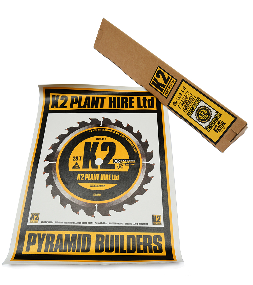 K2 Pyramid Builders Poster