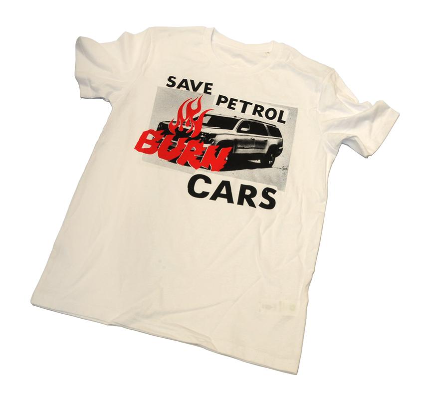 Jamie Reid Save Petrol Burn Cars T 1 72dpiv2